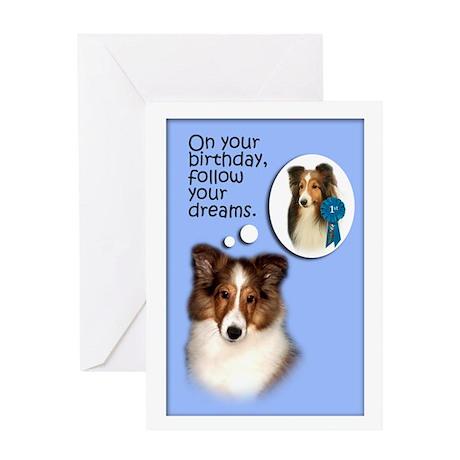 Sheltie Dreams Birthday