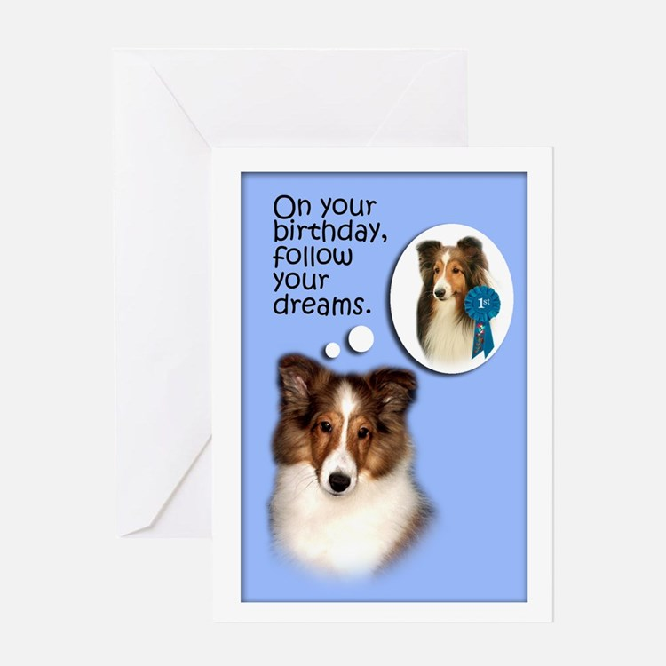 Sheltie Dreams Birthday