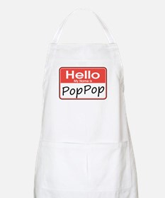 Hello, My name is PopPop BBQ Apron