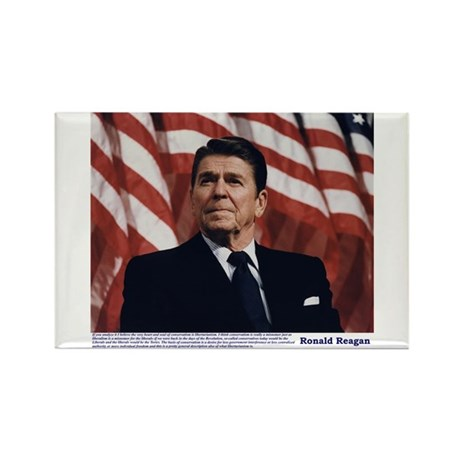Reagan on Conservatives as Re Rectangle Magnet (10