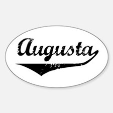 Augusta Oval Decal