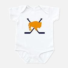 Buffalo Cross-Sticks Infant Bodysuit