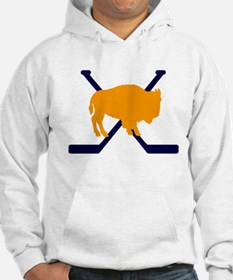 Buffalo Cross-Sticks Jumper Hoody