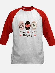 Peace Love Mahjong Tee
