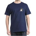 Penguin with Flower Bouquet Dark T-Shirt
