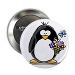 Penguin with Flower Bouquet 2.25