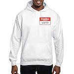 Hello, My name is Vava Hooded Sweatshirt