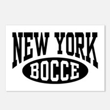 New York Bocce Postcards (Package of 8)
