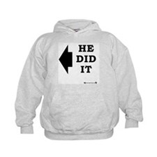 He did it! - Left Hoody