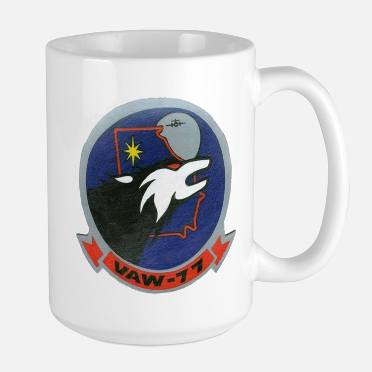 VAW 77 Nightwolves Large Mug