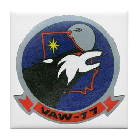 VAW 77 Nightwolves Tile Coaster