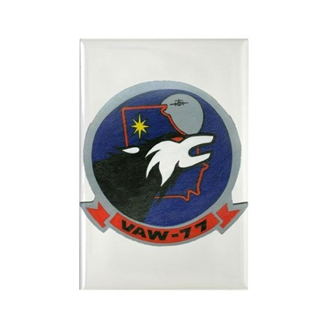 VAW 77 Nightwolves Rectangle Magnet