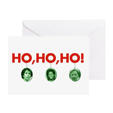 Ho, ho, ho Greeting Cards (Pk of 10)
