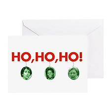 Ho, ho, ho Greeting Card