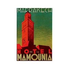 Marrakech Morocco Rectangle Magnet