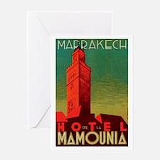 Marrakech Morocco Greeting Card