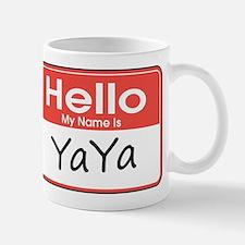 Hello, My name is YaYa Small Mugs