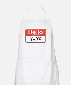 Hello, My name is YaYa BBQ Apron