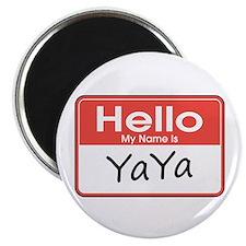 Hello, My name is YaYa Magnet