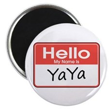 "Hello, My name is YaYa 2.25"" Magnet (10 pack)"