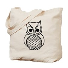 Black and White Owl 1 Tote Bag