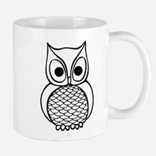 Black and White Owl 1 Mug
