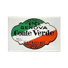 Genoa / Genova Italy Rectangle Magnet