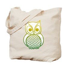 Color Owl 1 Tote Bag