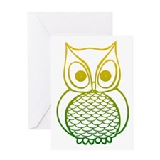 Color Owl 1 Greeting Card