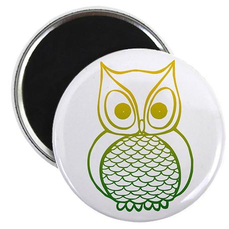 Color Owl 1 Magnet