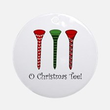 O Christmas Tee - Ornament (Round)