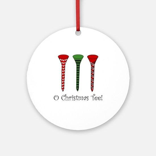 O Christmas Tee - Ornament (Round)