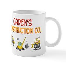 Caden's Construction Tractors Mug