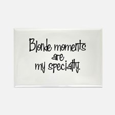 Blonde Moments Rectangle Magnet