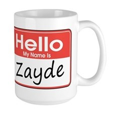 Hello, My name is Zayde Ceramic Mugs