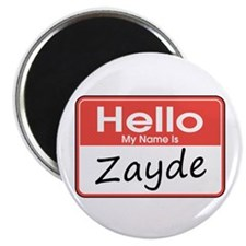"Hello, My name is Zayde 2.25"" Magnet (10 pack)"