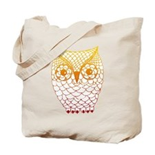 Color Owl 2 Tote Bag