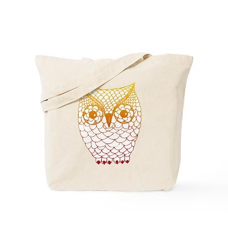 Color Owl 2 Tote Bag
