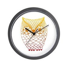 Color Owl 2 Wall Clock