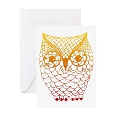 Color Owl 2 Greeting Card