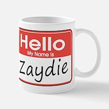 Hello, My name is Zaydie Mug
