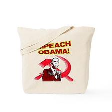 Unique Impeach obama Tote Bag