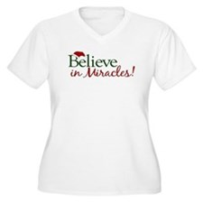 Believe in Miracles (Santa) T-Shirt