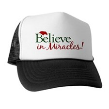Believe in Miracles (Santa) Trucker Hat