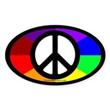 Peace on Rainbow