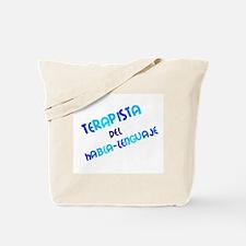 Terapista del Habla-Lenguaje Tote Bag