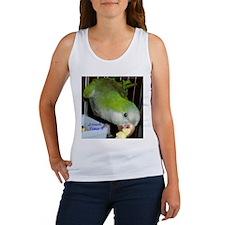 Peter the Quaker Parrot Women's Tank Top