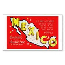 Mexico Rectangle Decal
