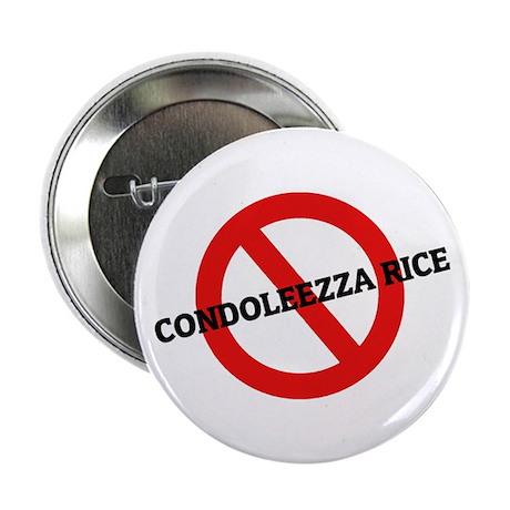 """Anti Condoleezza Rice 2.25"""" Button (10 pack)"""
