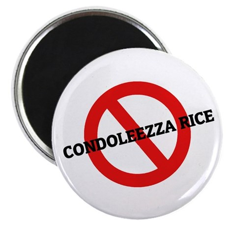 "Anti Condoleezza Rice 2.25"" Magnet (10 pack)"